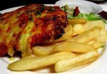 Pint and a Parmy $18.00